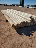 Bundle of 6'' PVC Pipe Some 20ft Joints