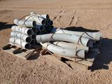 (2) Pallets of 6'' Cantex PVC Conduit Elbows