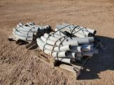 (2) Pallets of 3'' Cantex PVC Conduit Elbows
