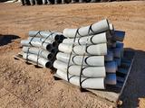 (2) Pallets of 5'' Cantex PVC Conduit Elbows