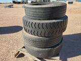 (4) Miscellaneous Truck Tires