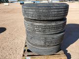 (4) 295/80 R 22.5 Michelin Truck Tires