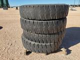 (4) 12 00 R 24 Goodyear Truck Tires