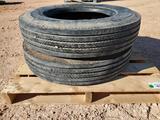 (2) 8R 19.5 Samson Tires
