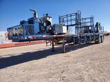 2012 Pratt Chem Add Trailer with(2) Cummins 4 CYL Engines
