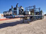 2011 Pratt Chem Add Trailer with(2) Cummins 4 CYL Engines