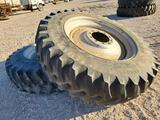 (2) 480/80R42 Firestone Tractor Tires with Wheels