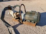 Electric Toshiba Motor with 6'' Water Pump