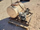 50 Gallon Spray Tank with Pump and Motor