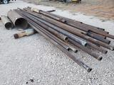 Different Size Pipe For Fence Post