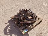 Pallet of Cultivator Spring Shanks