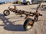 Mohawk 3 PT Hitch field cultivator with gauge wheels