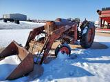 Massey Ferguson 65 Tractor With Front End Loader