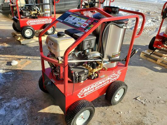 Unused Magnum 4000 Series Hot Water Pressure Washer