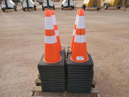 (50) Safety Road Cones