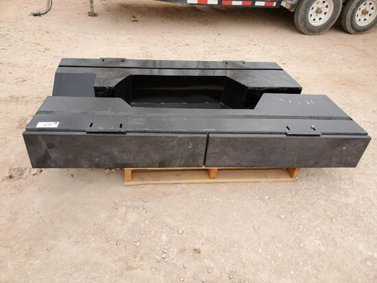 Unused over the fender tool box with drawers