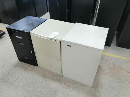 (3) Filing Cabinets
