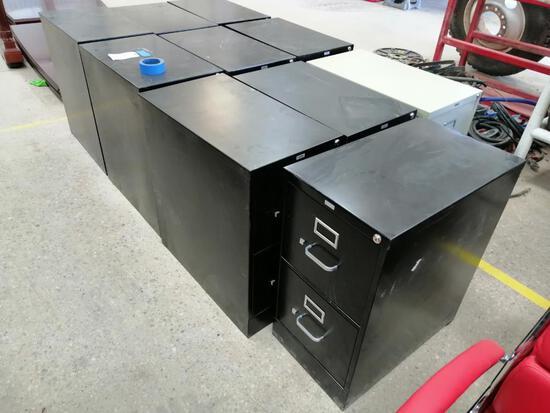 (10) Fling Cabinets