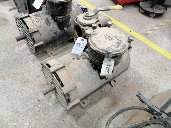 2011 National Vacuum Equipment 607 Vacuum Pump