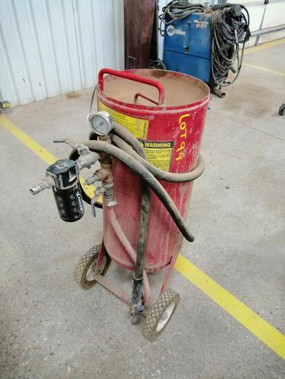 Abrasive Blaster Sand Pot