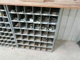 Storage Bin with 3/4 - 1'' Male Hose Fittings