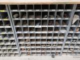 Storage Bin with 1/5-1'' Black Pipe Fittings