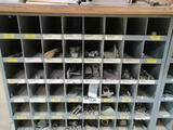 Storage Bin with Miscellaneous...1/4-11/2'' Bolts & Knots...