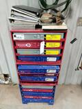 Kimball Midwest Storage Shelf, Copper End Lugs, Air Brake Parts...