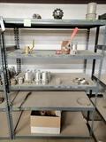 Metal Shelf Miscellaneous Vacuum Quick Couplers, Fittings