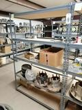 Metal Shelf, Steer Hubs Miscellaneous Items