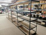 (4) Metal Shelves