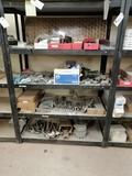 Metal Shelf with Hood Pins, Hood Bracket, Miscellaneous Truck Parts