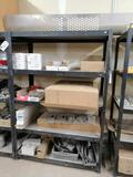 Metal Shelf with Miscellaneous Truck Parts