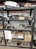 Metal Shelf, Miscellaneous Truck Parts