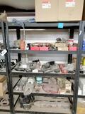 Metal Shelf with Suspension Bushings, Wheel Hub, Air Filters