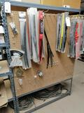 Shelf Metal Shelf with Truck Wipers, Extension Cord