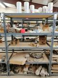Metal Shelf, Truck Starters & Miscellaneous Truck Parts