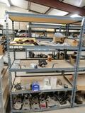 Metal Shelf, Drive Shaft Yokes