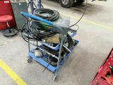 Mechanic Carts with Miscellaneous Items