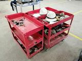 (2) Mechanic Parts Carts