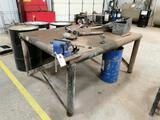 Shop Table with (2) Vise