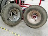 (2) 11R22.5 Truck Wheels & Tires