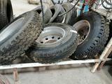 (3) Aluminum 11R22.5 Truck Wheels & Tires