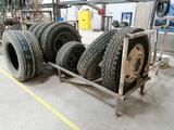 Shop Made Tire Rack