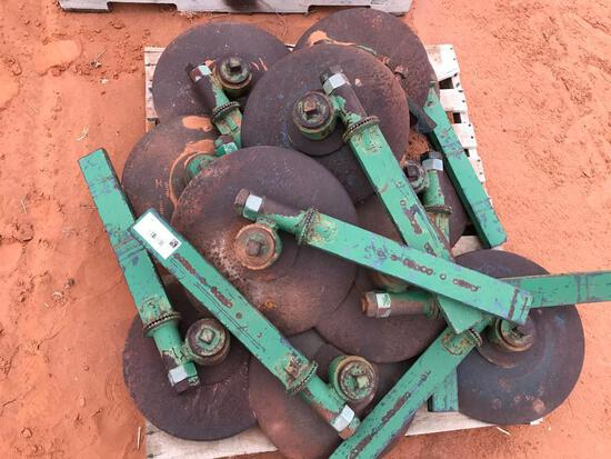 Pallet with Coulters
