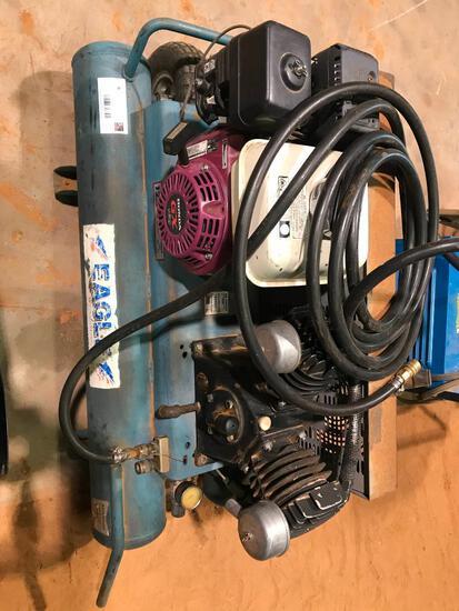 Eagle Air Compressor with Honda Gas Motor