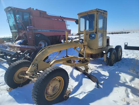 Allis Model D-AC Motor Grader, 4 Cyl Gas Engine, S/N 5698
