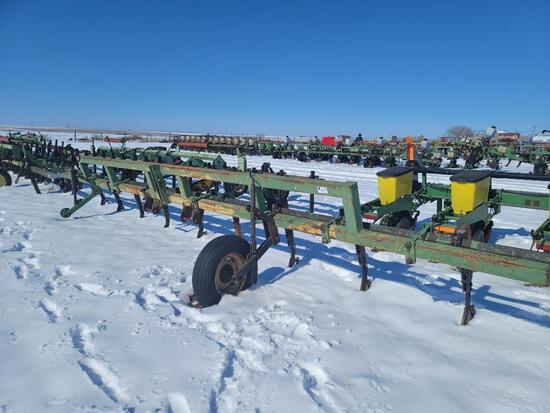 "8 Row Cultivator, 40"" Row Spacing, 3 Pt Hitch"