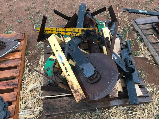 Pallet Of Ripper Beams with Sweeps