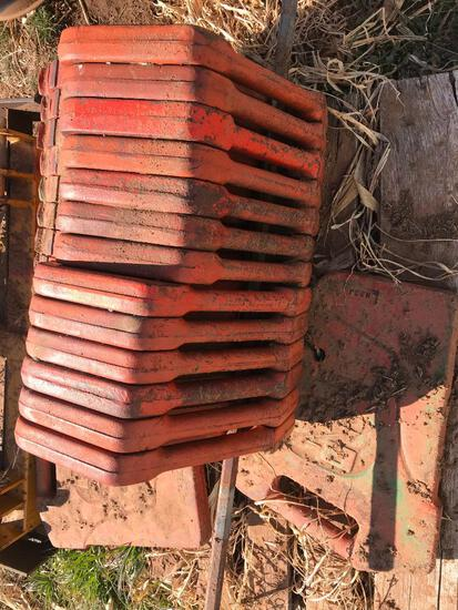 (16) Case Front Tractor Weights